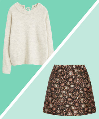 Why Mini Skirts + Sweaters Is Your Perfect Pair for Fall