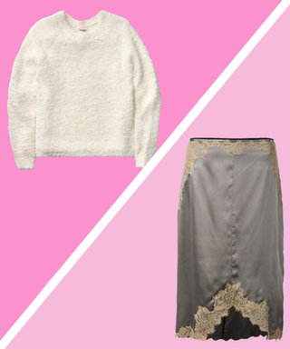 3 Reasons Why You Should Pair a Sweater with a Slip Skirt