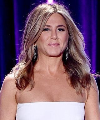 Jennifer Aniston Experiments with a Sexy Two-Piece Gown (and Totally Pulls It Off)