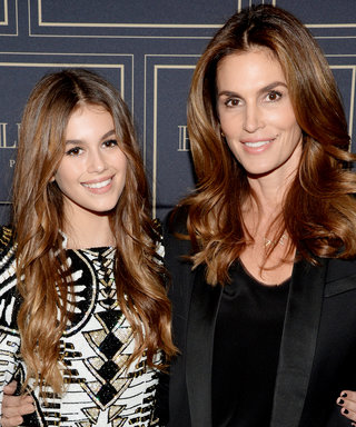 Cindy Crawford and Daughter Kaia Are Practically Identical at the H&M x Balmain Party