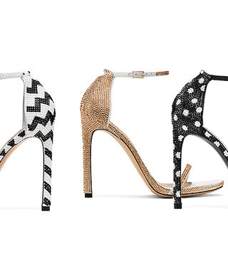 Stuart Weitzman's Most Popular Shoe Now Comes with a Whole Lot of Sparkle