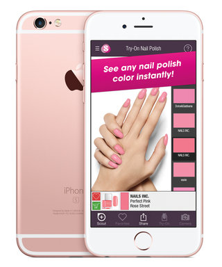This Genius App Finds the Perfect Nail Polish toAny Color of the Rainbow