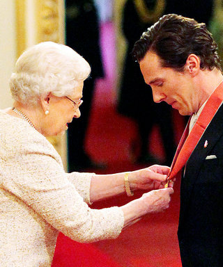 Queen Elizabeth II Honors Benedict Cumberbatch with a Fancy New Title