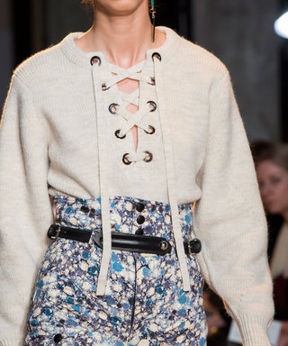 6 Reasons to Fall for the Lace-Up Sweater