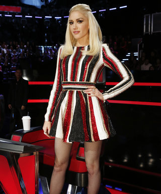 Gwen Stefani Embraces Holiday Fashion on The Voice