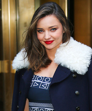 "Miranda Kerr's Key to Enjoying the Holidays? ""Having a Little Indulgence"""