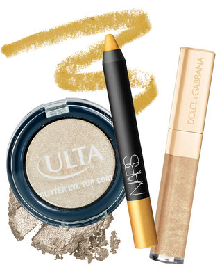 8 Ways to Add Glitter + Gold to Your Beauty Routine