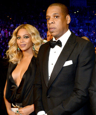 Beyoncé Rocks a Plunging Black Dress for Date Night With Jay Z