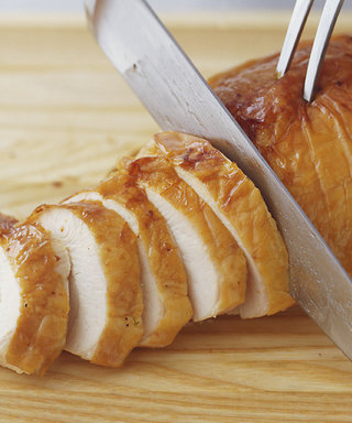The Easiest Way to Carve a Turkey, No Equipment Necessary