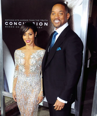 Jada Pinkett Smith Dazzles in a Daring Sheer Dress for Will Smith's Concussion Premiere