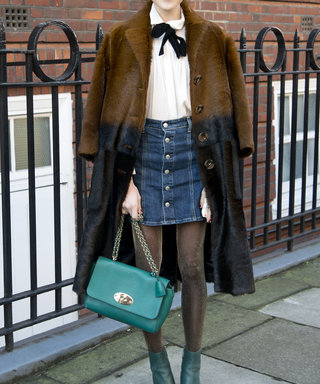 How to Wear Your Denim Skirt with Supreme Style This Winter