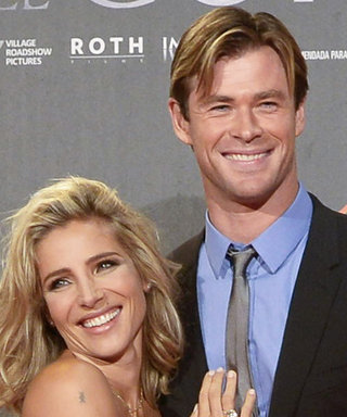 Chris Hemsworth and Elsa Pataky Are Beyond Adorable at the In the Heart of the Sea Premiere