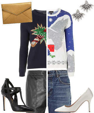How to Make an Ugly Holiday Sweater Look Chic—Really