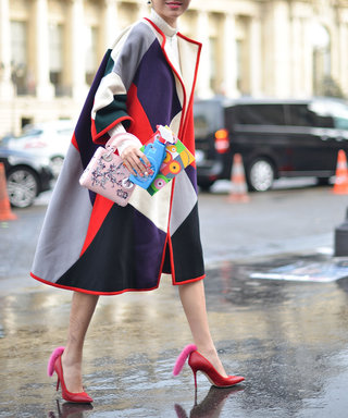 9 Printed Coats to Brighten a Dreary Winter Day