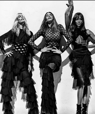 Claudia Schiffer, Cindy Crawford, and Naomi Campbell Reunite to Star in Balmain's Spring 2016 Campaign