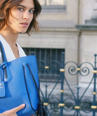 Watch Alexa Chung Channel Her Inner Parisian in Longchamp's Spring 2016 Campaign