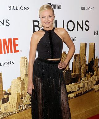 """See Malin Akerman's Sexy """"See-Through Skirt"""" from the Billions New YorkPremiere"""