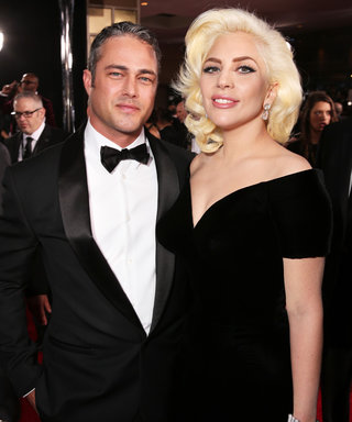 A Swimsuit-Clad Lady Gaga Hits the Beach with Taylor Kinney the Morning After Her Golden Globes Win
