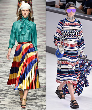 How to Wear Spring's Most Colorful Trend:Rainbow Stripes