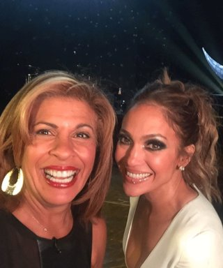 See How Hoda Kotb, J.Lo's #1 Fan (Mom!), and More Stars Celebrated the Singer's Opening Night in Vegas