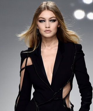 Gigi Hadid Rules the Versace Runway at Couture Fashion Week