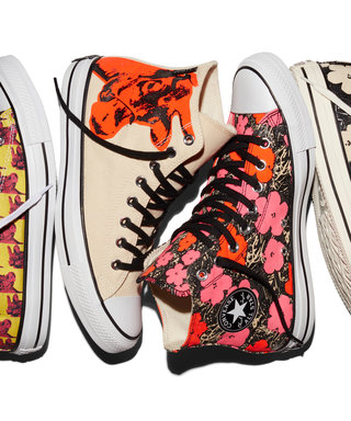 Converse's Newest Andy Warhol Sneaker Collection Is a Nod to the Artist's Best Work