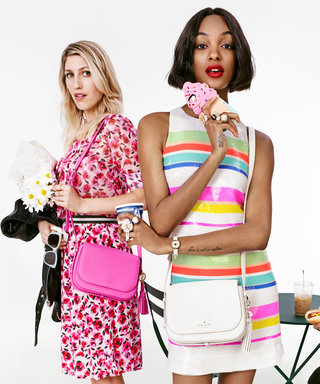 Jourdan Dunn and Iris Apfel's Playful Kate Spade Campaign Will Get You Excited for Spring