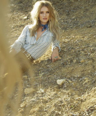 Exclusive: Go Behind the Scenes of Rosie Huntington-Whiteley's Paige Denim Campaign Shoot