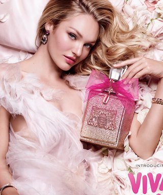 How Candice Swanepoel's New Fragrance Campaign Inspired Her to Bring the Juicy Couture Tracksuit Back