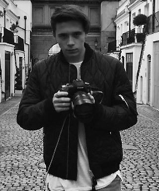 Brooklyn Beckham Is Now a Pro Photographer—See His Burberry Fragrance Campaign