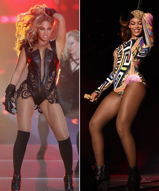 See Beyonce Rock her Signature Bodysuit on Stage