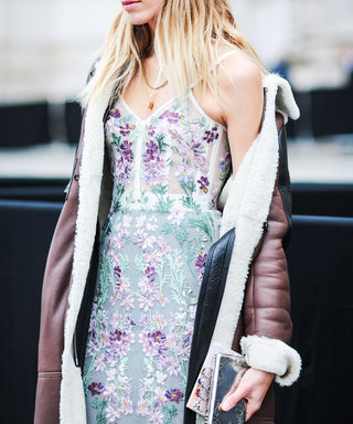 Why Shearling Is All the Street Style Rage