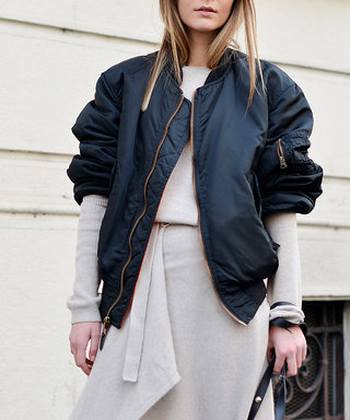 How to Wear a Bomber Jacket Like a Street Style Star