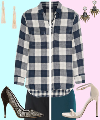How to Dress Up Flannel