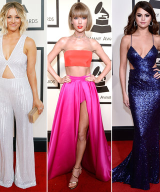 The Best Ab-Baring Gowns That Graced the 2016 Grammys Red Carpet