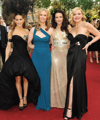 9 Times Kristin Davis & the SATC Ladies Owned the Red Carpet
