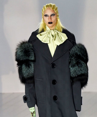 Surprise! Lady Gaga Walks the Runway at Marc Jacobs's #NYFW Show