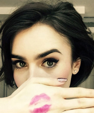 This Is Why You're Seeing So Many Kiss-Print Selfies on Instagram