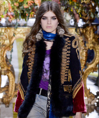 Gucci, Roberto Cavalli Show Snakes with a Bite on Day 1 of #MFW