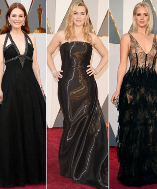 The 3 Most Non-Boring Black Gowns from the 2016 Oscars