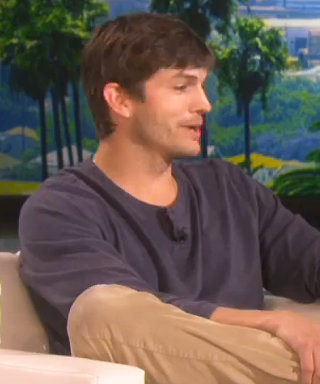 Ashton Kutcher Reveals That His 1-Year-Old Daughter Wyatt Is a Daredevil on Ellen