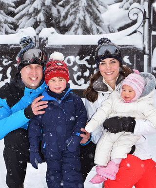 Kate Middleton and Prince William Share Photos of Their Family Ski Trip
