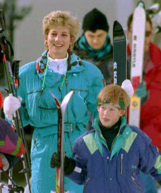 See Throwback Photos of Princess Diana, Prince William, and Prince Harry's Ski Trip