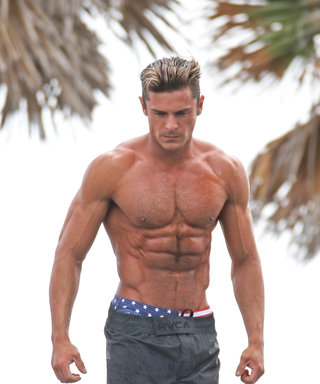 What Zac Efron Ate to Get His Killer Baywatch Bod