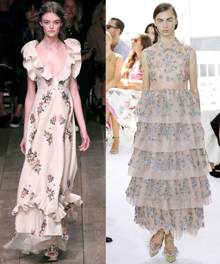 Tap Your Girly Side with Spring's Romantic Florals