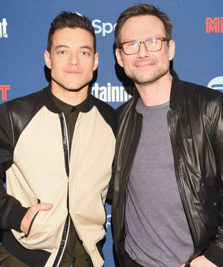 You'll Never Guess What Rami Malek and Christian Slater Were Really Doing in Mr. Robot's Famous Ferris Wheel Scene