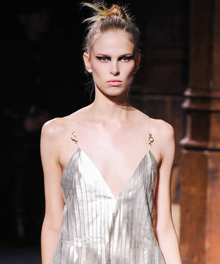 Shine On with Spring's Metallic Trend