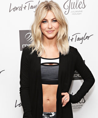"Julianne Hough's #Fitspo? ""Matching My Fitbit to My Workout Gear!"""