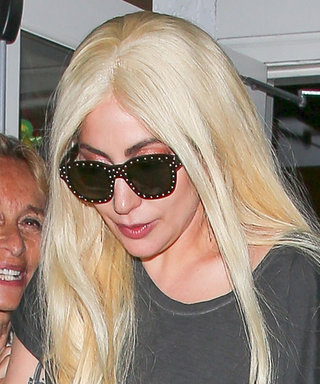 Lady Gaga Ditches Red Carpet Elegance and Goes Casual in Ripped Denim