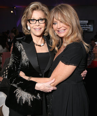 Jane Fonda, Goldie Hawn, and More Stars Gather to Support Environmental Sustainability